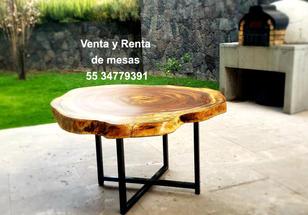 venta y renta de mesas