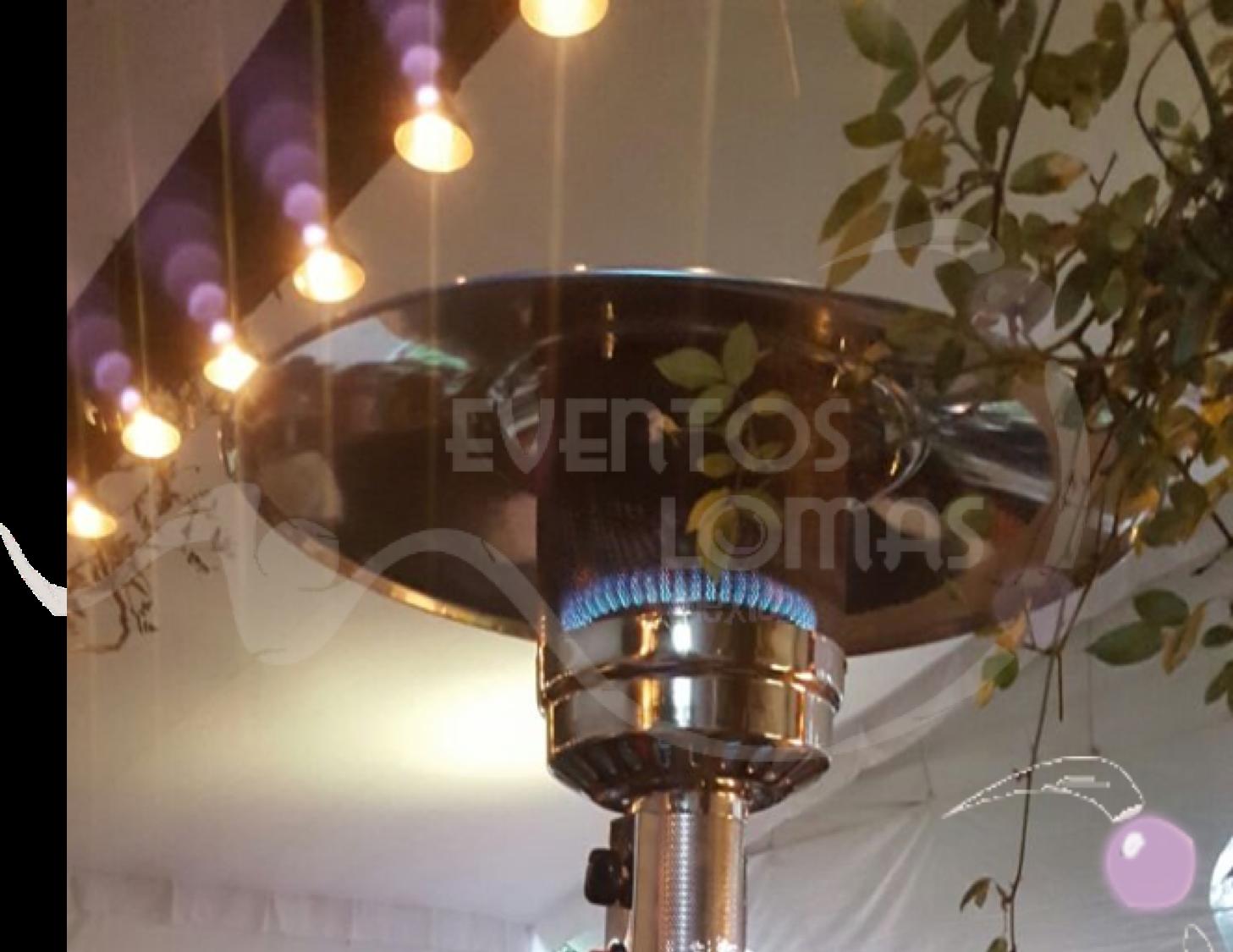 renta de calentadores para eventos