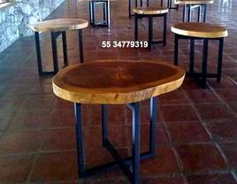 renta y venta mesas de parota
