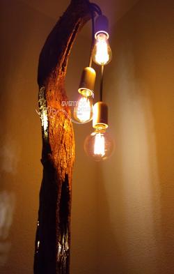 renta de  lampara vintage
