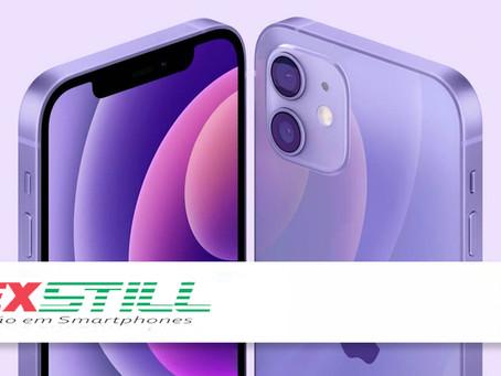 Mais bonito? Apple lança iPhone 12 e 12 Mini na cor roxa no Brasil: