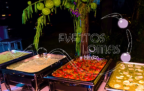 banquetes para fiestas