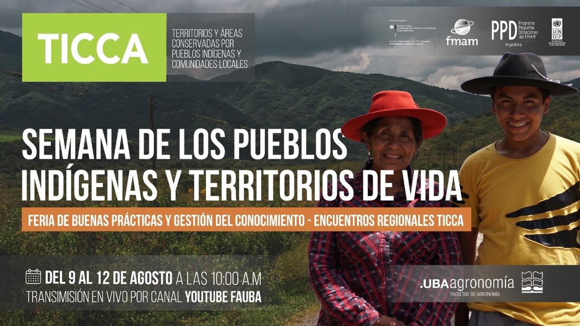 PNUD-PPD-TICCA: Semana de los pueblos indígenas y territorios de vida