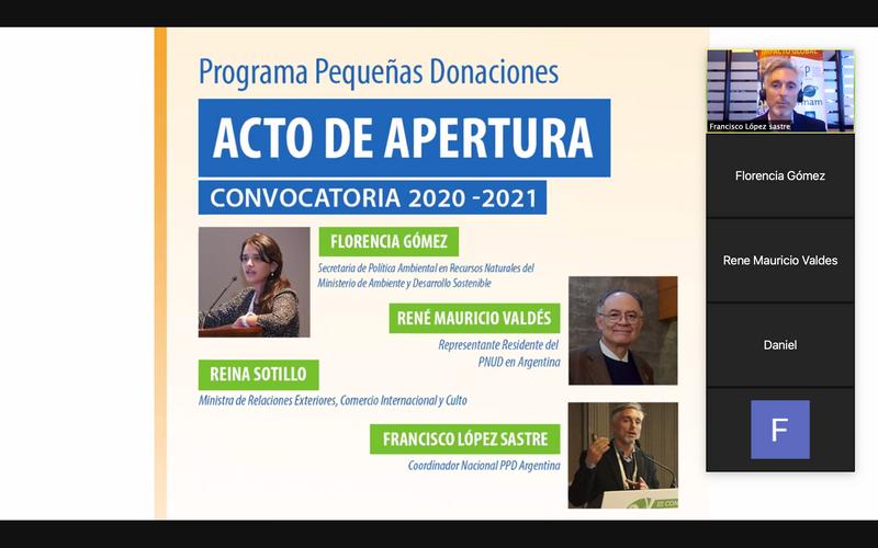 INICIÓ LA CONVOCATORIA PARA LA PRESENTACIÓN DE PROYECTOS AMBIENTALES 2020/2021