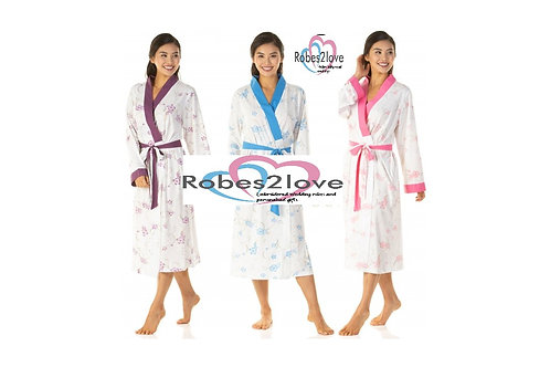 Cotton plus size robes