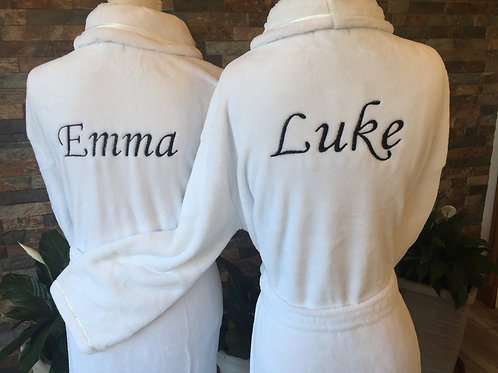 Matching Luxury any Name matching robes