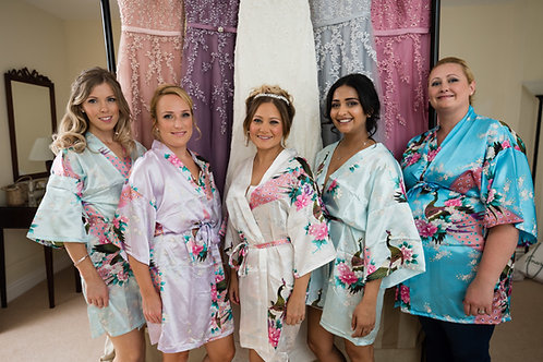 Paradise satin NON PERSONALISED Robes