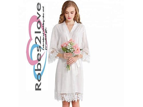 Romany Cotton Lace Robes