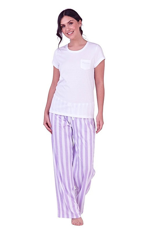 Princess Honeymoon lilac lounge pj's