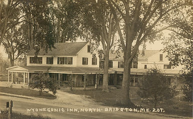 Wyonegonic Inn North Bridgton - Postcard