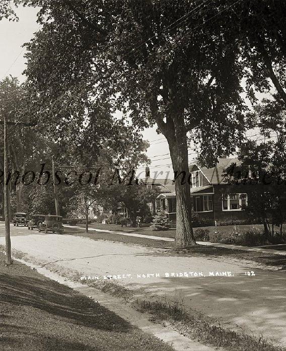 Main Street North Bridgton
