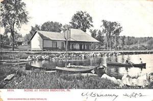 North Bridgton Railroad Depot 1905