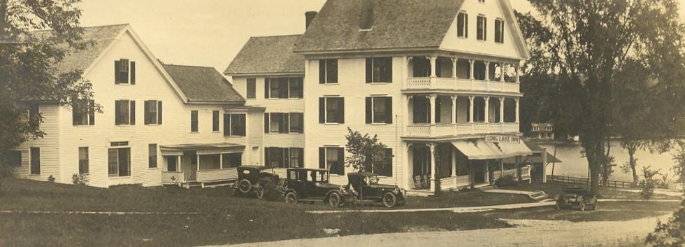 Long Lake Inn Postcard