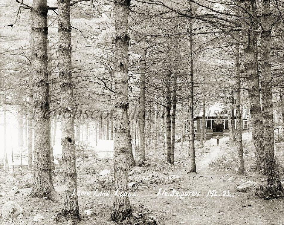 Long Lake Lodge in Winter