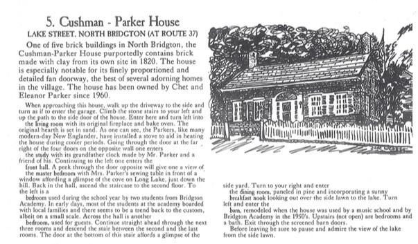 Cushman-Parker House