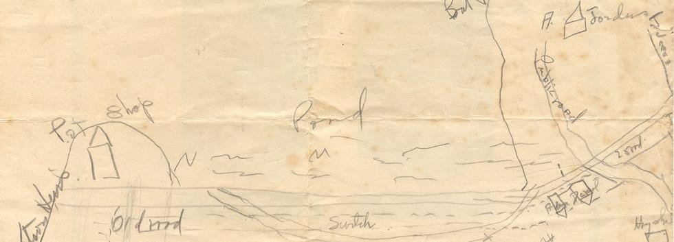 North Bridgton Map (1930)