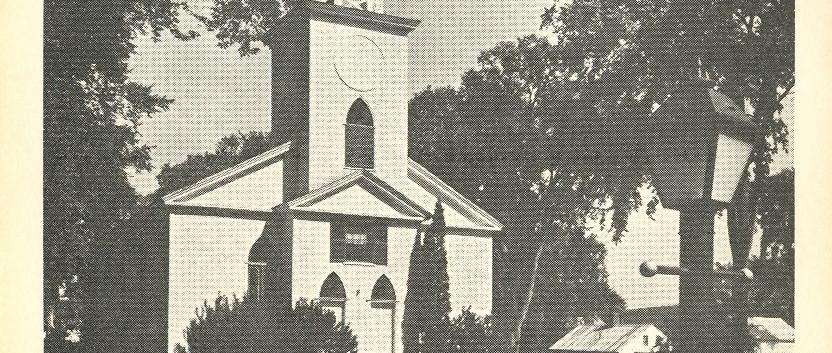 North Bridgton Congregational Church Notecard