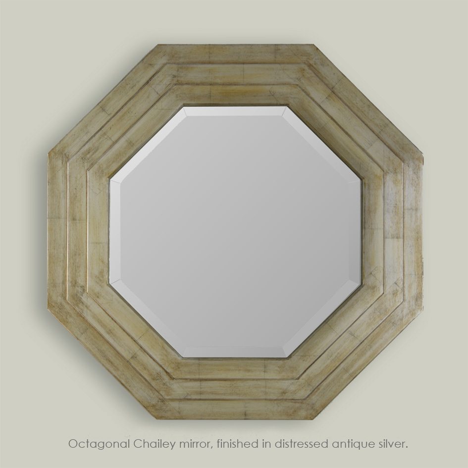 Patrick Chailey-Octagonal finished in distressed silver