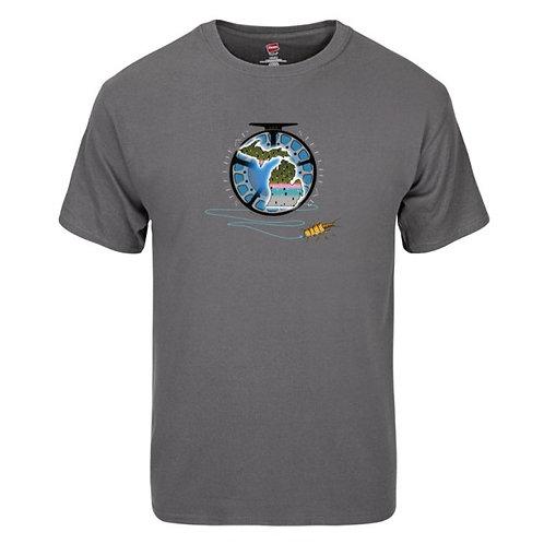 Smoke Grey Shirt (MI-Steelhead)