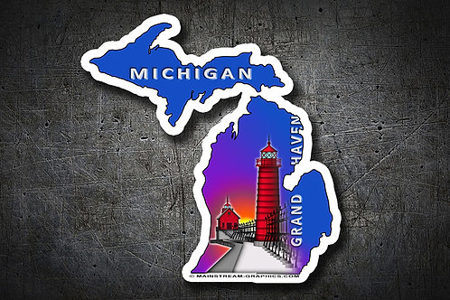 GRAND HAVEN PLATE