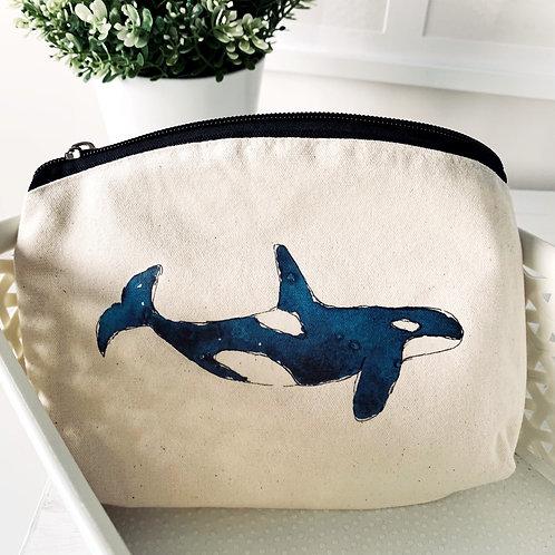100% Natural Cotton Orca wash bag