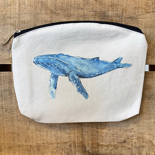 100% Natural Cotton Humpback wash bag