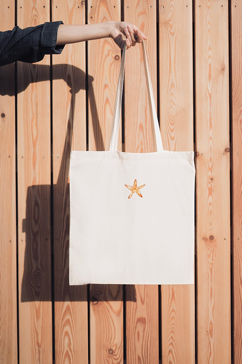 NEW - Limited edition Starfish tote bag