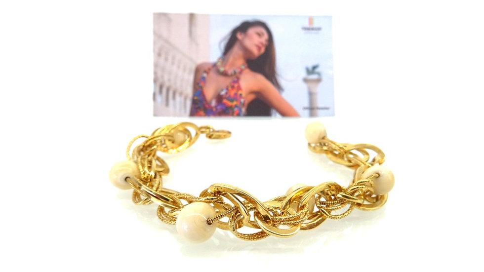 Gold bracelet Murano & Vetro