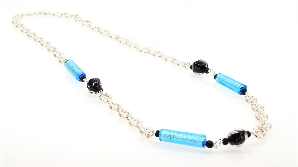 Murano glass necklace tiffany