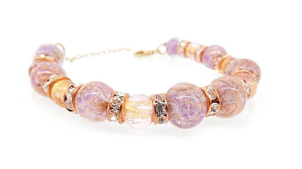 Original Murano glass bracelet, unique piece