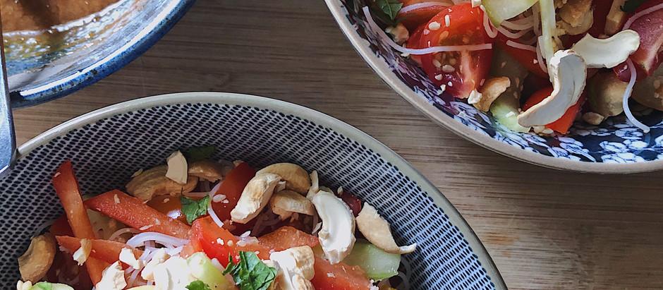 Une salade pour finir la saison
