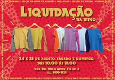 Convite | Liquidação 2013