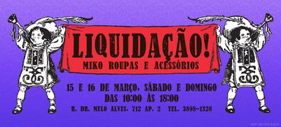 Convite | Liquidação 2014