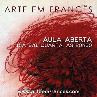 Arte em Francês (Art in French)