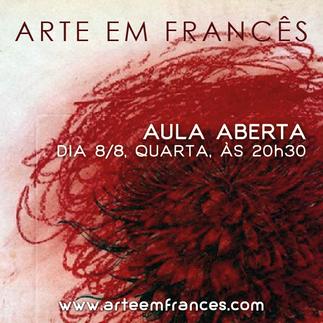 Arte em Francês (Kunst auf Französisch)
