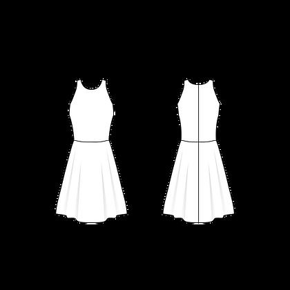 Vestido Retrô