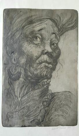 Etching-portraits