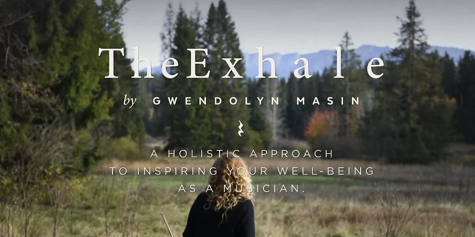 Online Masterclass at The Exhale