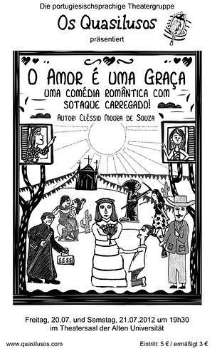Cartaz | O Amor é uma Graça (2012)