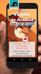 Falando com(o) um árabe