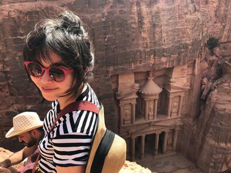 Eu e a Jordânia