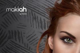 Werbekampagne Makiah | Background mit Textur