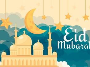A celebração do Eid al-Fitr   Nível básico