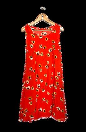 Vestido Polka | sem manga