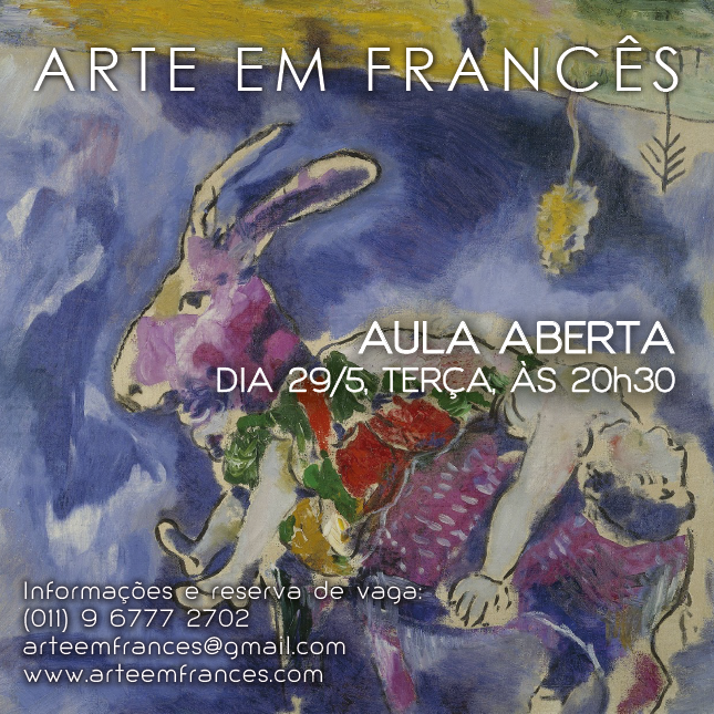 Digital Flyer | Marc Chagall