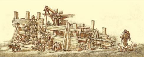 De fora da arca
