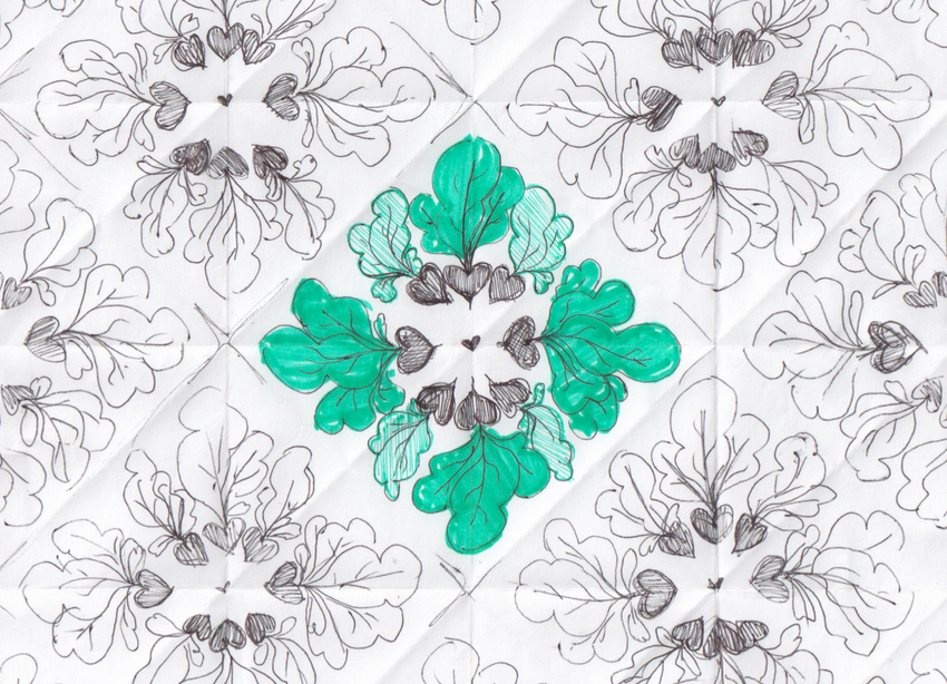 Beet Pattern Sketch