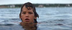 Cory.Swimming.Sandbar