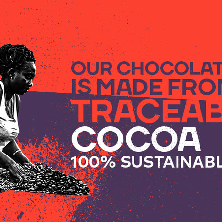 Why our chocolate is sustainably sourced to create a wholesome tasting ammonite?