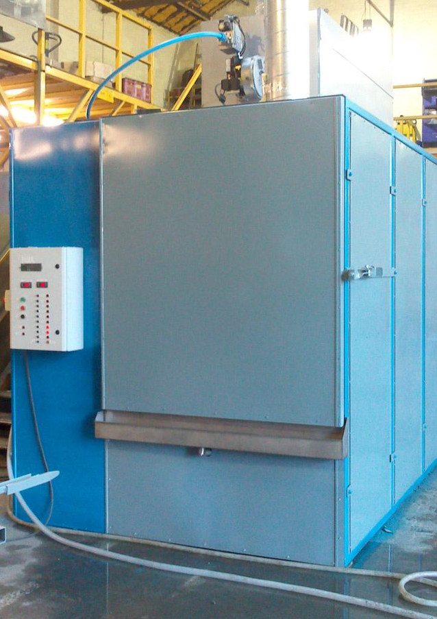 Installation - Power supply for pre-treatment auto wash tanks